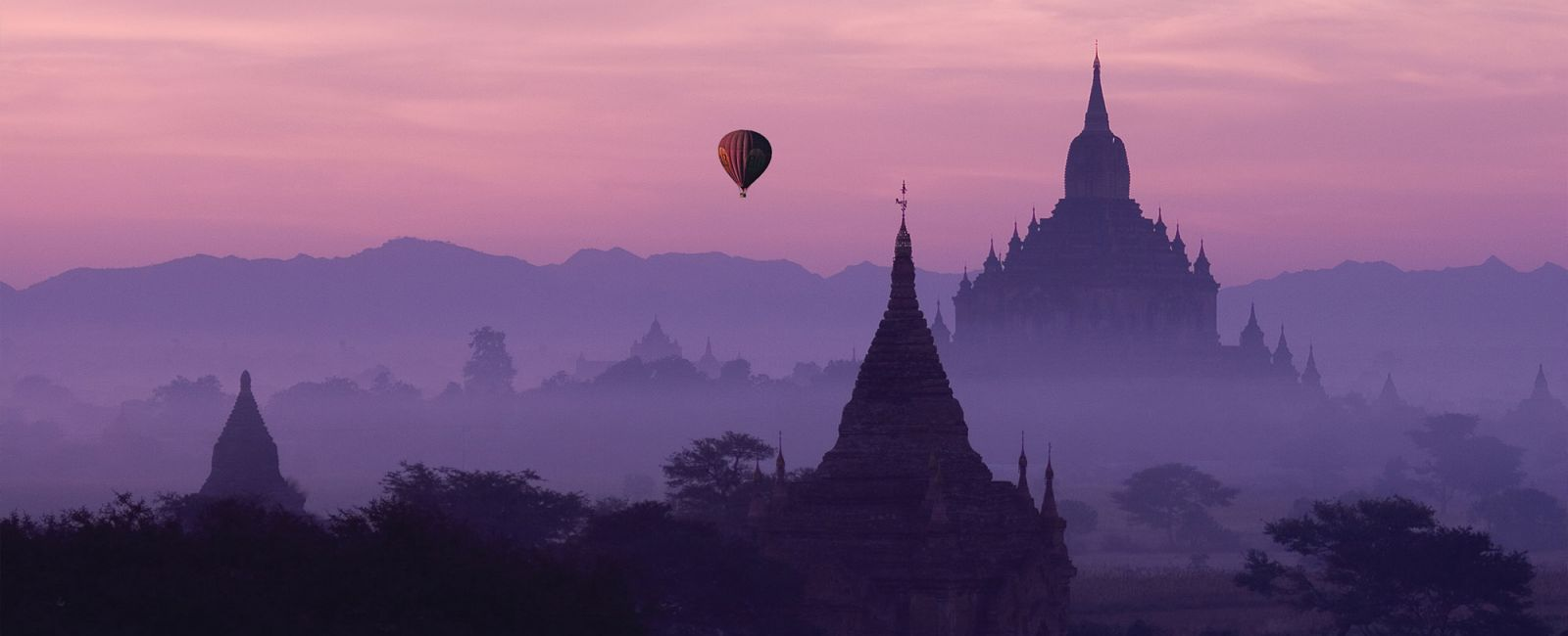 Destinations in Myanmar